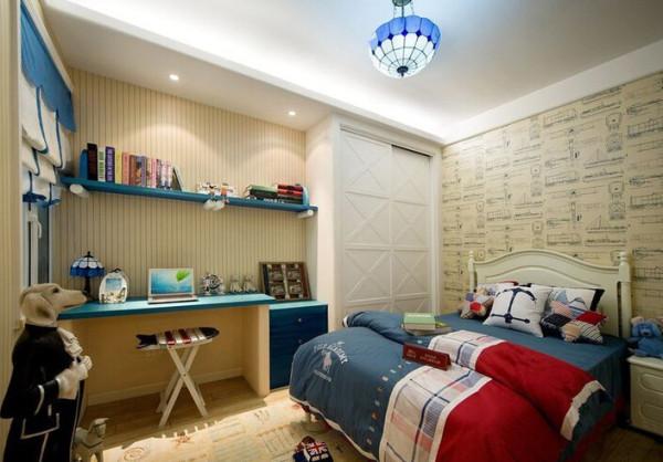 卧室地中海装修效果图