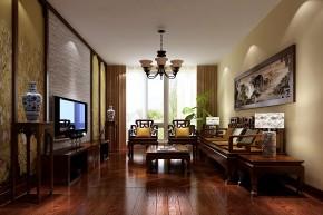简约 中式 高度国际 时尚 别墅 白领 80后 白富美 中景江山赋 客厅图片来自北京高度国际装饰设计在中景江山赋中式四居平层的分享