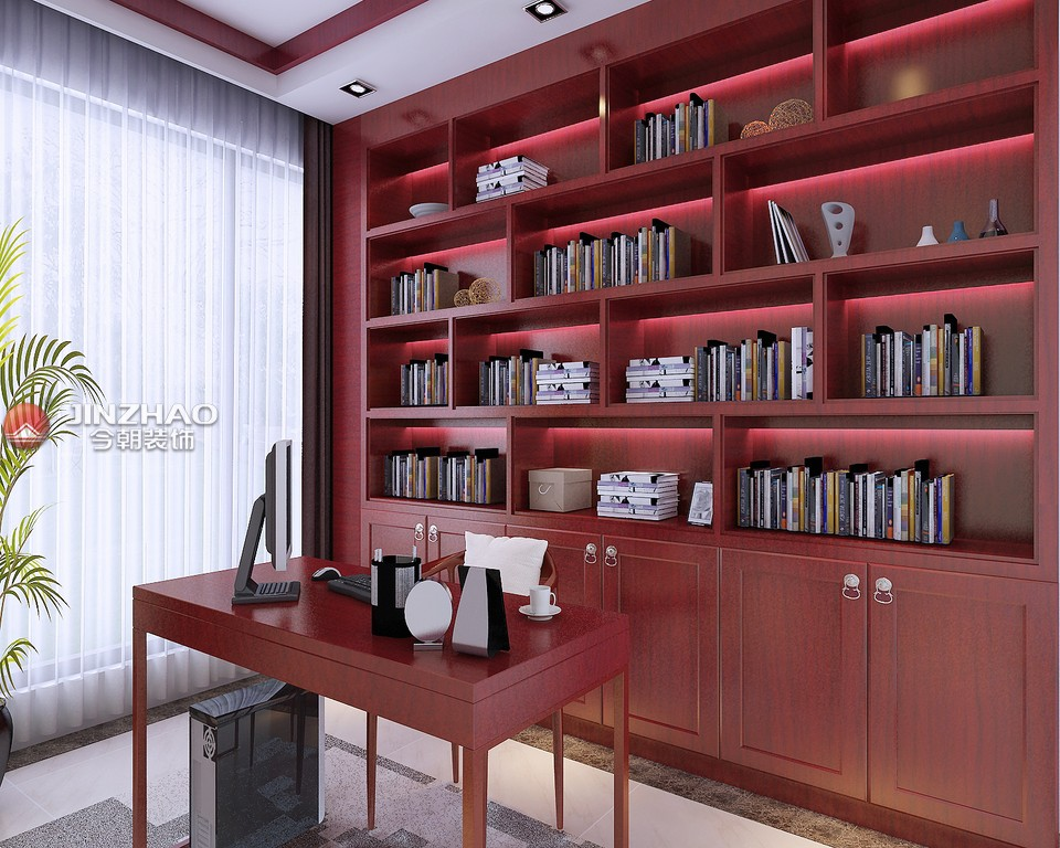 三居 书房图片来自152xxxx4841在怡和中馨城2的分享