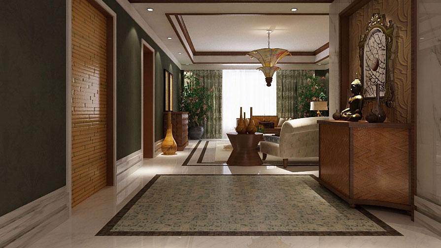 中式 泰式 混搭 二居 三居 别墅 白领 收纳 旧房改造 其他图片来自周楠在中信城的混搭风格的分享