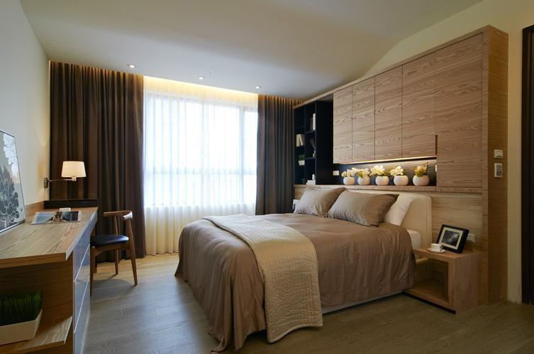 简约 白领 卧室图片来自今朝装饰老房专线在168平,现代简约,龙湖时代天街的分享