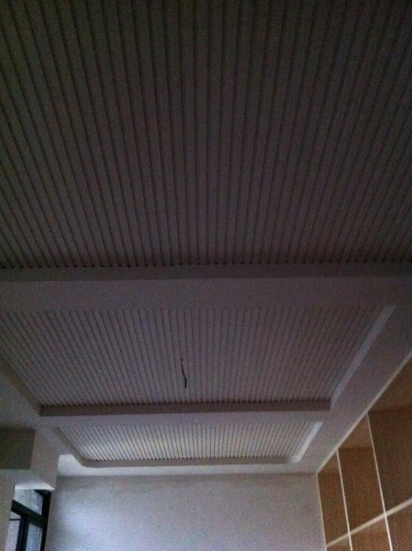 餐厅的吊顶。