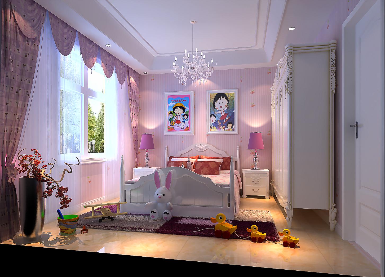 田园 别墅 卧室图片来自北京今朝装饰刘在潮白河孔雀城的分享