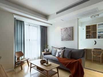 日式原木三室两厅温馨家