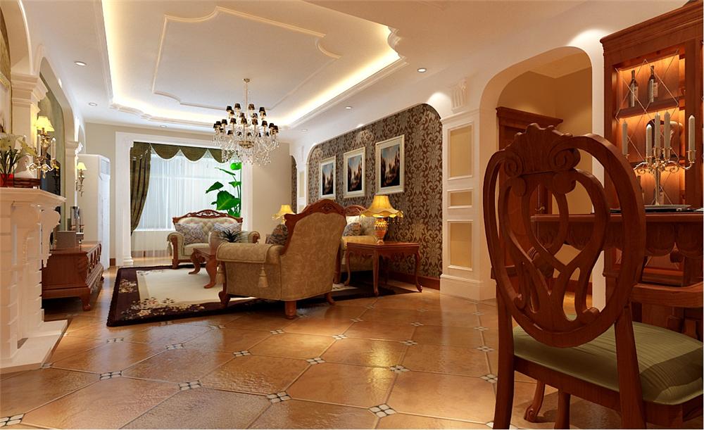 欧式 新古典 混搭 四居室 白领 收纳 80后 小资 卧室图片来自shichuangyizu在301医院玉泉新城四口幸福之家的分享