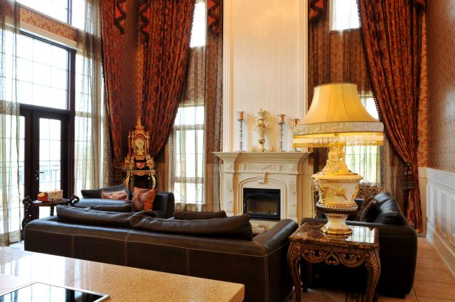别墅装修 别墅设计 客厅图片来自天津别墅装修在京津新城的分享