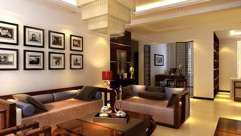 高度国际 诗婷 三居 中式 其他图片来自高度国际装修设计诗婷在马赛公馆  130㎡  三居室的分享