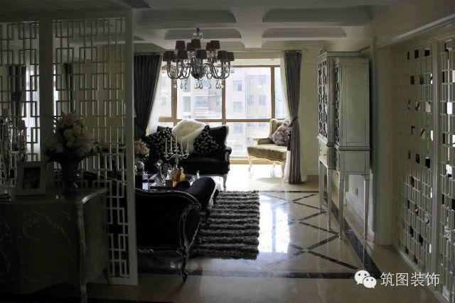 玄关图片来自上海筑图装饰设计工程有限公司在华侨城的分享