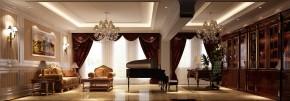 简约 欧式 别墅 白领 80后 时尚 高度国际 尚湖世家 白富美 书房图片来自北京高度国际装饰设计在中海尚湖世家欧式叠拼别墅的分享