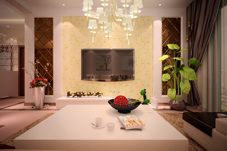 田园 二居 瀚海泰苑 餐厅 装修 效果图 客厅图片来自曹素雅美巢装饰在瀚海泰苑的分享