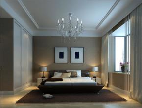 简约 现代 高度国际 时尚 白领 80后 三居 白富美 临河里小区 卧室图片来自北京高度国际装饰设计在临河里小区现代简约公寓的分享