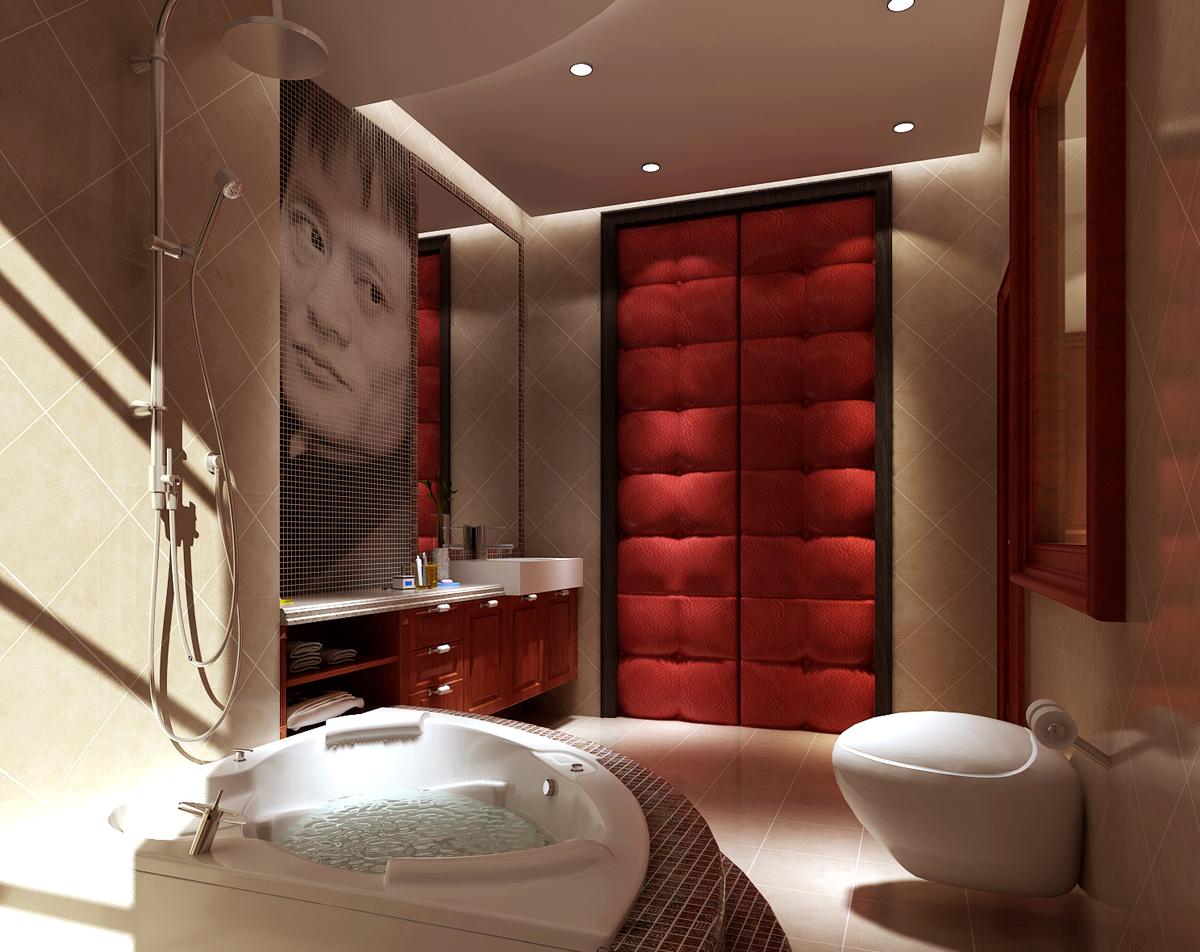 简约 三居 卫生间图片来自今朝装饰老房专线在135平,三居,罗马假日的分享