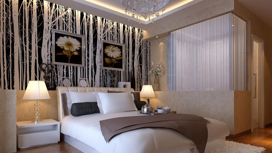 欧式 二居 三居 别墅 白领 收纳 80后 小资 旧房改造 卧室图片来自周楠在旭辉御府欧式风格的分享