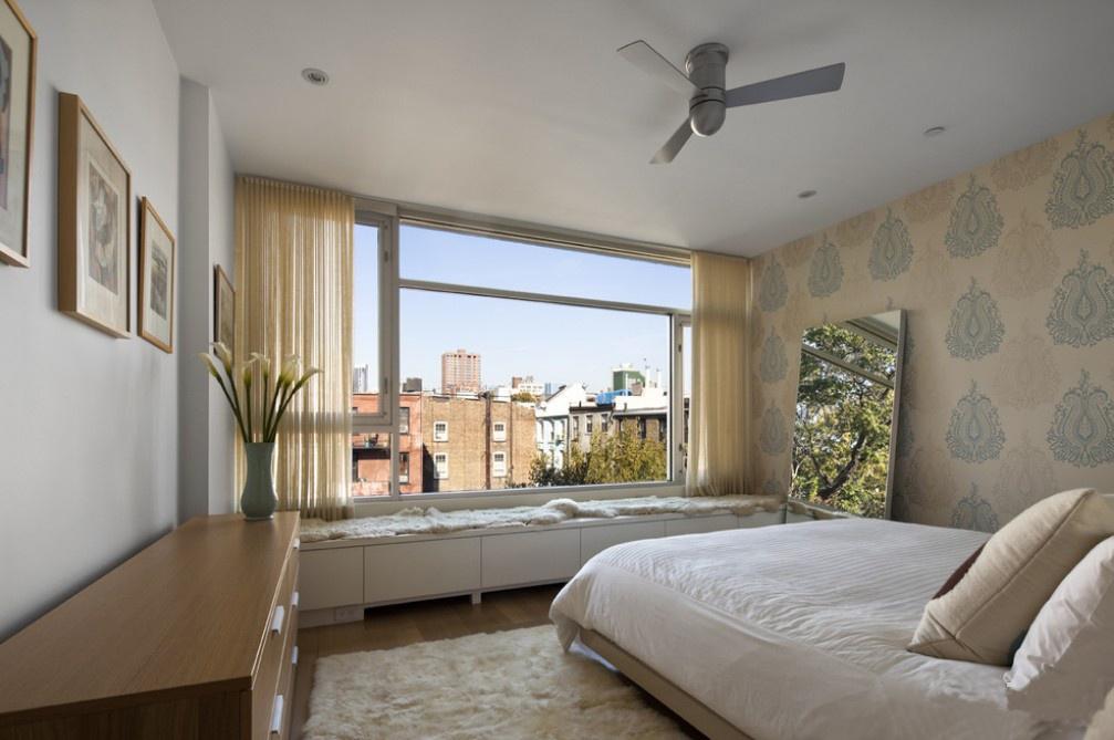 二居 简约 收纳 旧房改造 卧室图片来自今朝装饰老房专线在62平,现代简约,西北旺小区的分享