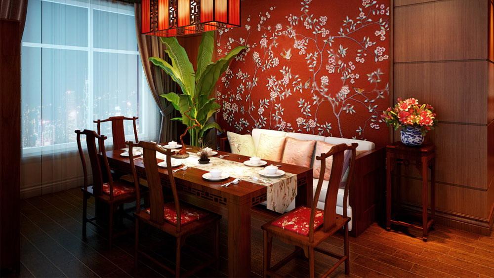中式 二居 三居 别墅 白领 收纳 旧房改造 80后 小资 餐厅图片来自周楠在光湖国际的分享
