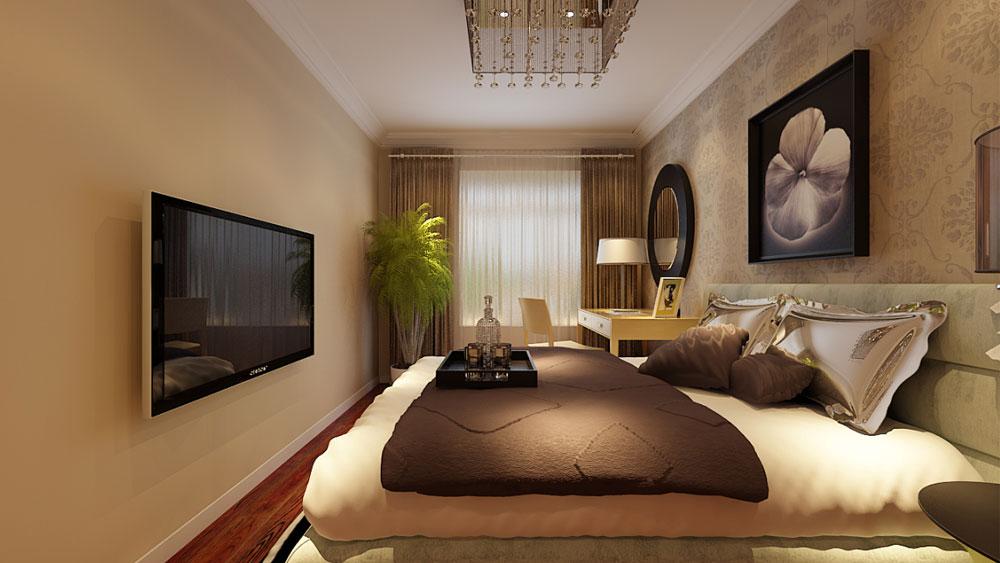 简约 二居 三居 别墅 白领 收纳 旧房改造 80后 小资 卧室图片来自周楠在红木林C4户型的分享