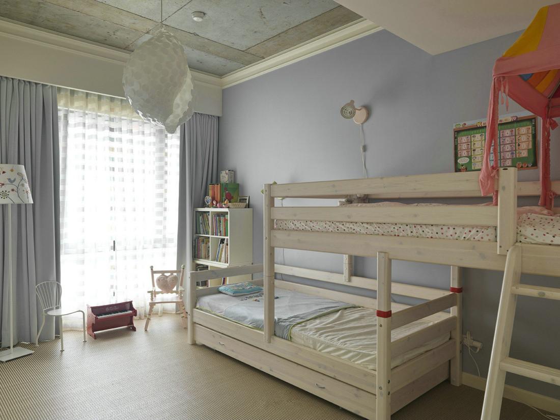 简约 别墅 现代 品界 复式 儿童房图片来自石家庄亿佰居装饰在225平实景样板间【现代简约】的分享