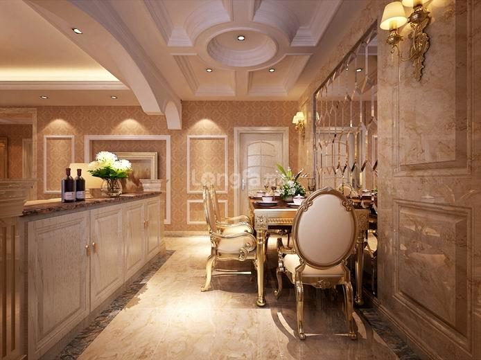简约 欧式 三居 收纳 餐厅图片来自西安龙发装饰在浐灞半岛欧式风格的分享