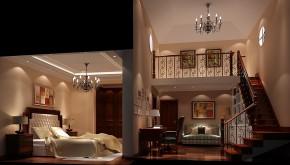 美式 高度国际 时尚 别墅 简约 白领 80后 白富美 新新家园 客厅图片来自北京高度国际装饰设计在天竺新新家园380平美式别墅的分享