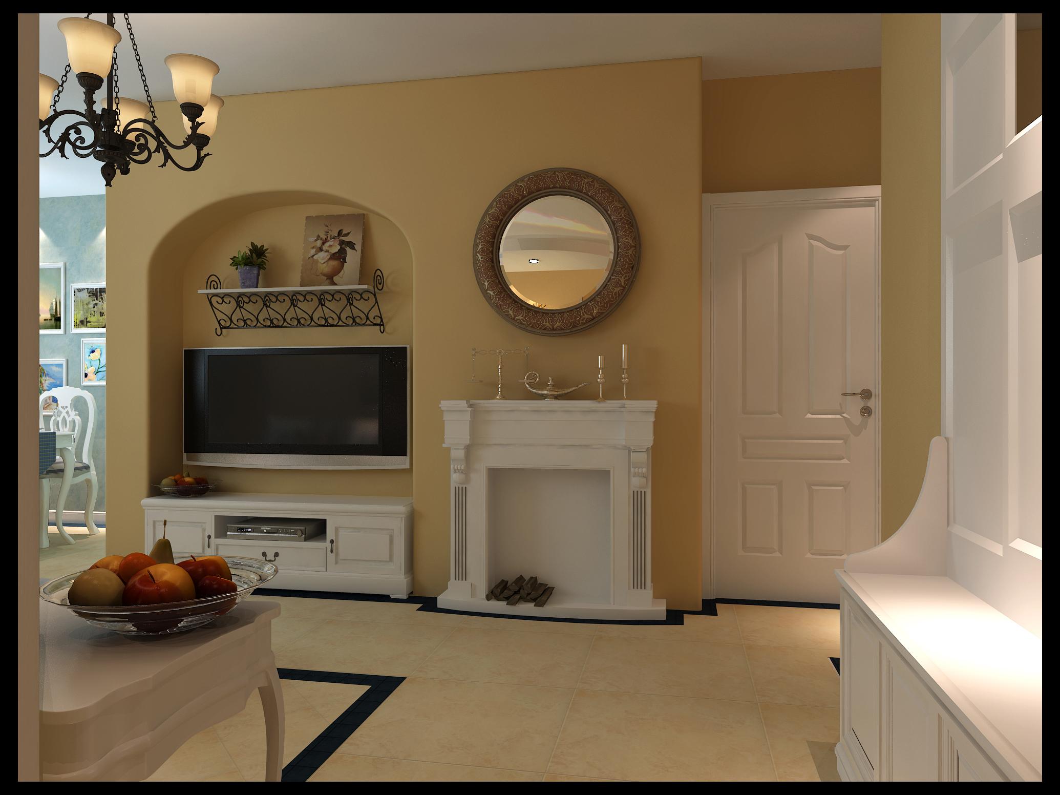 旧房改造 收纳 二居 客厅图片来自今朝装饰老房专线在中式情节 老房简单时尚的分享