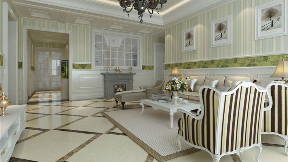 欧式 二居 三居 别墅 白领 收纳 旧房改造 80后 小资 客厅图片来自周楠在蓝爵东方公馆的分享
