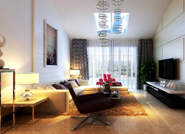 高贵,大气的客厅里,优雅的线条使空间带给人开阔,舒适的视角感受。在色彩的运用上并不是很夸张,而是以温馨舒适为核心,营造出一种低调奢华的家居氛围。