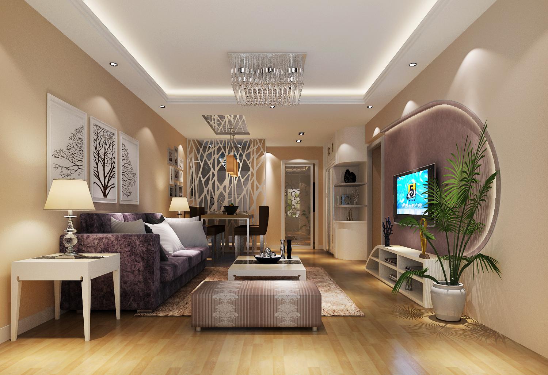 现代 高度国际 时尚 白富美 中铁花语城 二居 三居 白领 80后 客厅图片来自北京高度国际装饰设计在中铁花语城婚房浪漫两居的分享