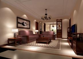 中式 高度国际 时尚 白富美 三居 中铁花语城 白领 80后 简约 客厅图片来自北京高度国际装饰设计在中铁花语城新中式三居的分享
