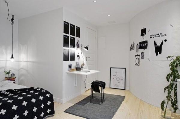 现代简约注重居室空间布局与使用功能的完美结合,流线简单明快,没有过分的装饰,一切从功能出发的主调;以白色亮光为主的家具配置搭配极富对比色的简洁饰物,使整个环境格调清新。