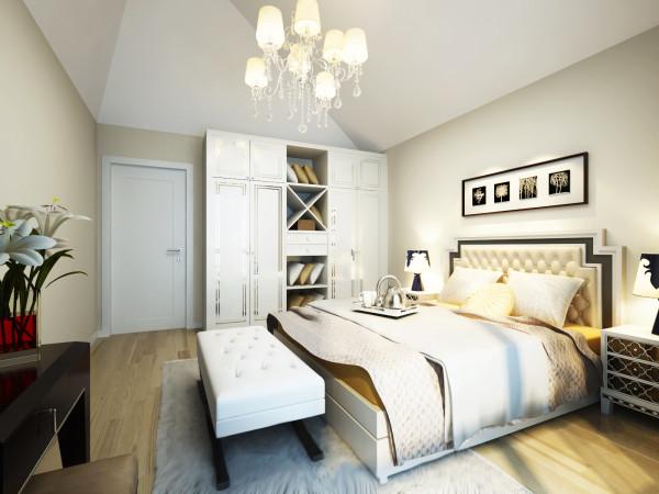 6.7万打造超强清新92平绚丽浪漫小空间-卧室装修效果图