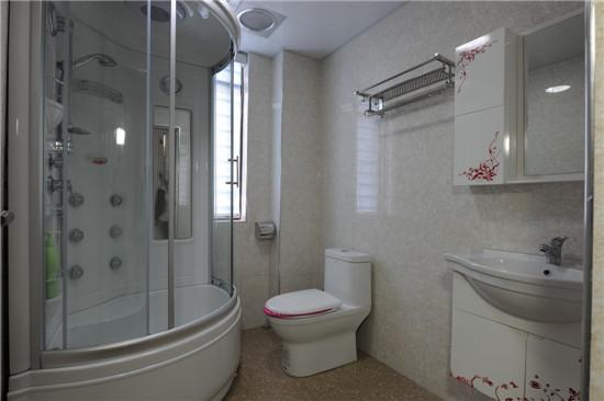 现代感的卫生间