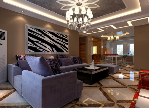 现代设计需要通过特殊的处理手法和精细的施工工艺来达到要求,装饰画。织物的选择对于整个色彩效果也起到了点明主题的作用,营造真正具有特色的现代风格的居室。