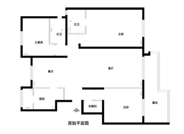 金汉绿港150平米原始户型图