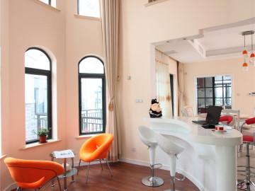上海东郊华庭别墅户型美式实景