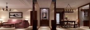 中式 高度国际 时尚 白富美 三居 中铁花语城 白领 80后 简约 玄关图片来自北京高度国际装饰设计在中铁花语城新中式三居的分享