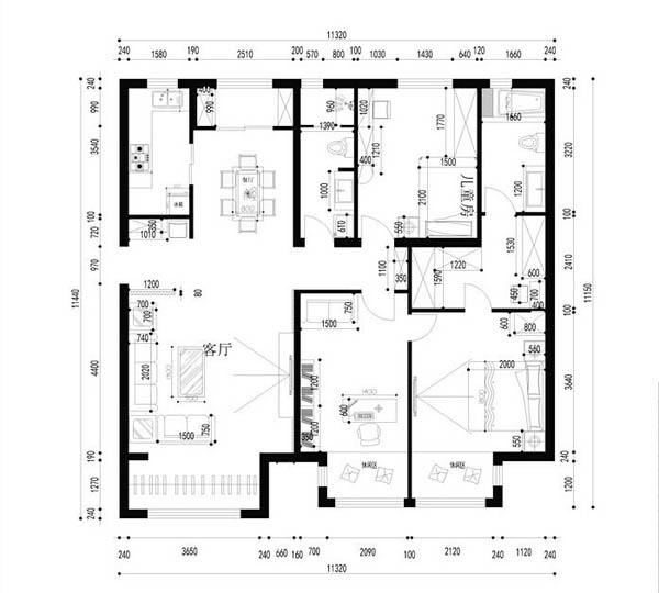 欧式 混搭 三居 收纳 旧房改造 简约图片来自fengjiao_zhang在默认专辑的分享