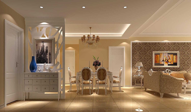 简约 欧式 三居 白领 80后 小资 白富美 高度国际 长滩壹号 餐厅图片来自北京高度国际装饰设计在长滩壹号欧式简约三居的分享