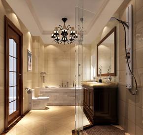 简约 美式 高度国际 时尚 白富美 三居 白领 80后 小资 卫生间图片来自北京高度国际装饰设计在5.9万打造美式经典两居的分享