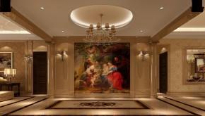 美式 高度国际 时尚 白富美 远洋东方 三居 白领 80后 别墅 玄关图片来自北京高度国际装饰设计在远洋东方家园美式三居的分享