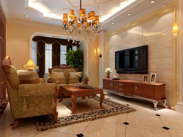 两居室-欧式风格