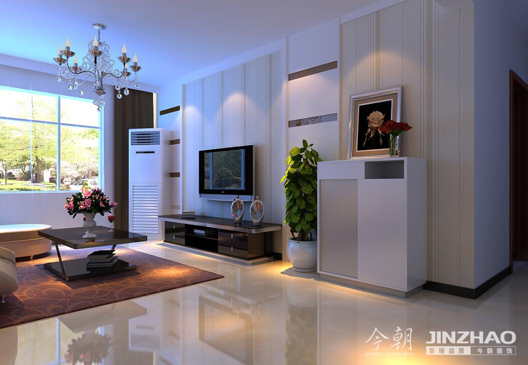 上河原著 现代简约 两居 今朝 收纳 温馨 客厅图片来自米虫Qx在默认专辑的分享