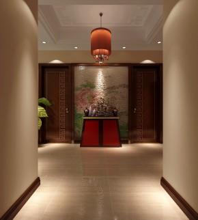简约 新中式 高度国际 时尚 白富美 三居 白领 80后 小资 玄关图片来自北京高度国际装饰设计在远洋东方家园新中式三居的分享