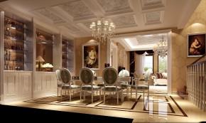简约 欧式 别墅 三居 白领 80后 尚湖世家 高度国际 白富美 餐厅图片来自北京高度国际装饰设计在15万打造中海尚湖世家浪漫叠拼的分享