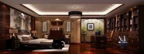简约 欧式 别墅 三居 白领 80后 尚湖世家 高度国际 白富美 书房图片来自北京高度国际装饰设计在15万打造中海尚湖世家浪漫叠拼的分享