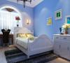 蔚蓝的四居室地中海风格装修