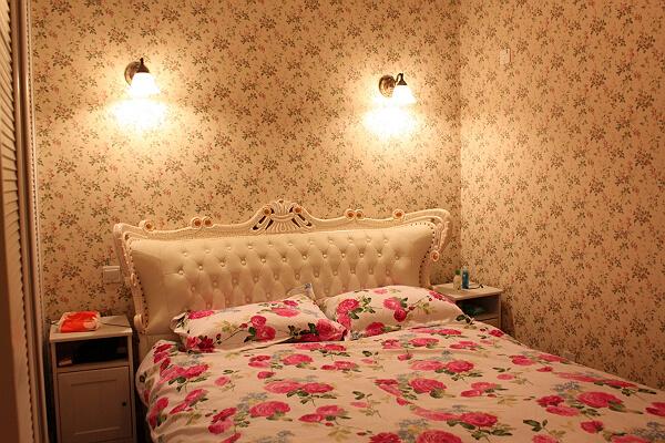 田园 一居 80后 卧室图片来自工长大本营装饰在清新小田园装修后期的分享