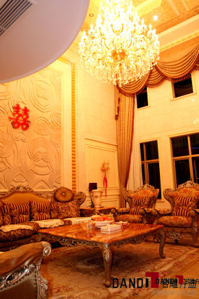 欧式 别墅 高富帅 别墅装饰 奢华 熙园 客厅 客厅图片来自名雕丹迪在迷恋·奢华—熙园欧式别墅的分享