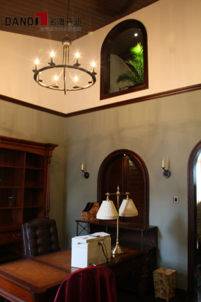 西班牙风格 别墅 高富帅 休闲别墅 别墅装饰 名雕丹迪 书房图片来自名雕丹迪在西班牙风情—曦城休闲别墅的分享