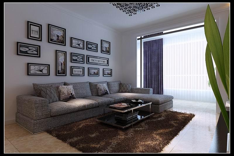 简约 三居 80后 收纳 白领 小资 客厅图片来自晋级装饰小金在中海寰宇现代风格的分享