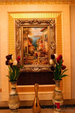 欧式 别墅 高富帅 别墅装饰 奢华 熙园 客厅 玄关图片来自名雕丹迪在迷恋·奢华—熙园欧式别墅的分享